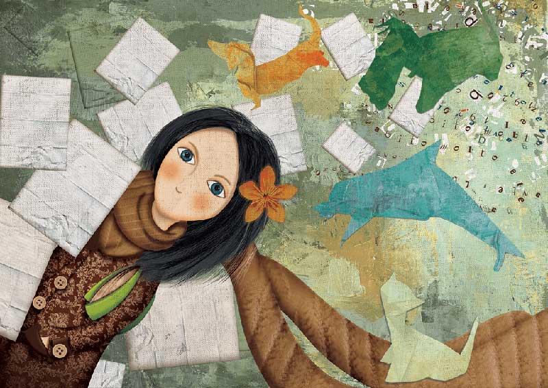 Una delle illustrazioni di Dania Puggioni