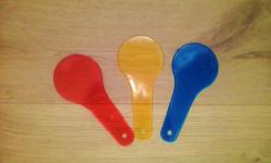 Gli attrezzi del mestiere: palette con i colori primari