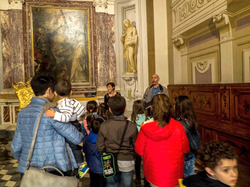 Orti sonori nel Capitolo della Certosa