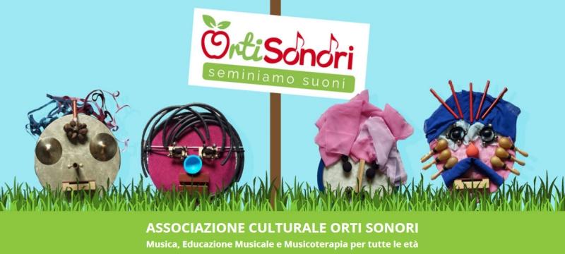 Dalla homepage del sito di Orti Sonori