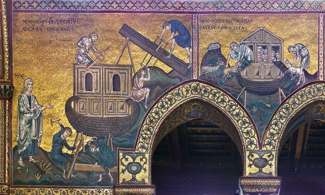 Oro e splendore per l'arca di Noe': storia di un diluvio